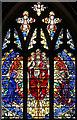 TQ3571 : St Bartholomew, Sydenham - Stained glass window by John Salmon