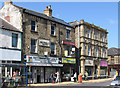 SE3903 : Wombwell - shops on High Street by Dave Bevis
