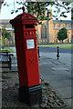 NZ2742 : Victorian Post Box Durham by edward mcmaihin