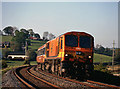 J0634 : Southbound passenger train at Knockarney crossing - 1997 by The Carlisle Kid