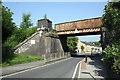 SD9951 : Railway bridge, Shortbank Road by Roger Templeman