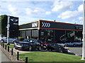 NZ2365 : Mini showroom, Barrack Road by JThomas