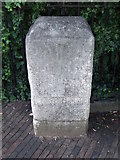 TL4557 : Old Milestone by Keith Evans