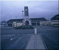 SJ3290 : Seacombe Ferry Bus Station by David Hillas