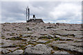 NJ0004 : The weather station at the summit of Cairn Gorm by Mike Pennington