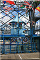 ST3186 : Newport Transporter Bridge - gondola by Chris Allen