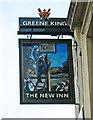 TQ2783 : The New Inn (2) - sign, 2 Allitsen Road, St. John's Wood, London NW8 by P L Chadwick