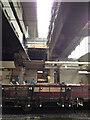 SP0686 : All change at New Street: construction at platform 6b by Robin Stott