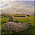 SD1481 : Part of stone circle, Kirksanton by Andy Deacon