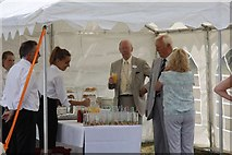 SU5985 : Refreshments tent by Bill Nicholls