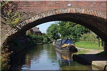 SK0418 : Bridge 66, Trent & Mersey Canal by Stephen McKay