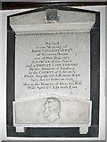 TA0816 : Monument to John Uppleby Esq. by David Wright