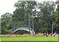 NT6131 : Suspension bridge over the Tweed, Mertoun by Jim Barton