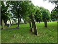 SK2176 : Early evening in Eyam Churchyard (22) by Basher Eyre