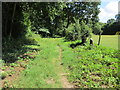 TQ0717 : Path to West Chiltington Road by Peter Holmes