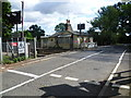 TQ6746 : Level crossing on Wagon Lane by Marathon