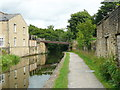 SE0723 : The canal at the site of Canal Mills by Humphrey Bolton