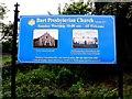 C3621 : Church information board, Burt by Kenneth  Allen