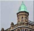 J3374 : Turret, former Robinson & Cleavers, Belfast by Albert Bridge