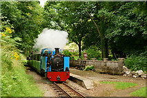 SD1499 : 'Wroxham Broad' at Eskdale Green by Peter Trimming