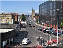 SJ8499 : Manchester, Cheetham Hill Road by David Dixon
