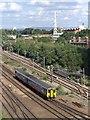 SJ8499 : DMU north of Manchester Victoria by David Dixon