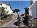 SX4952 : Old stone stile, Hexton Hill by David Smith