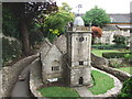 SP1620 : St. Lawrence Church, Bourton-on-the-Water Model Village by Chris Whippet