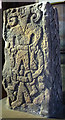NY7708 : The Loki Stone, Kirkby Stephen Church by Karl and Ali