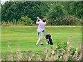 ST9993 : Oaksey Golf Club, near Oaksey by Brian Robert Marshall