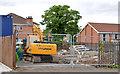 """J3775 : """"Palmerston"""" housing site, Belfast (2013-3) by Albert Bridge"""