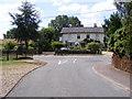 TM1083 : Church Walk, Shelfanger by Adrian Cable