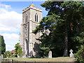 TM1083 : All Saints Church, Shelfanger by Adrian Cable