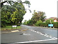 TQ0965 : Berkeley Court at the junction of Oatlands Drive by David Howard