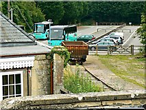 ST9897 : North-east from the footbridge, Kemble Railway Station, Kemble by Brian Robert Marshall