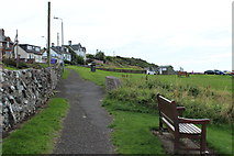 NS2515 : Footpath to Car Park at Dunure by Billy McCrorie