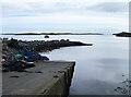 NF9673 : Slipway at Bàgh a Chàise by John Allan