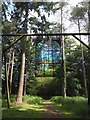 "SO6212 : The sculpture ""Cathedral"" in Forest of Dean Sculpture Trail by David Smith"