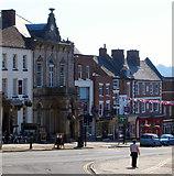 SK1846 : Market Place, Ashbourne, Derbys. by David Hallam-Jones
