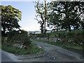 NS1168 : The entrance to Ardyne Farm by Ian S