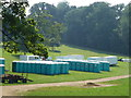 TF0405 : Toilets galore for Burghley Horse Trials by Richard Humphrey