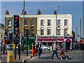 TQ3681 : Shops and Flats, Commercial Road, Limehouse, London by Christine Matthews
