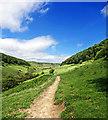SE8492 : Horcum Slack Valley by Scott Robinson