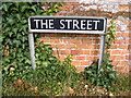 TG2705 : The Street sign by Adrian Cable