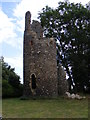 TG2705 : Ruins of the Church of St.Mary by Adrian Cable