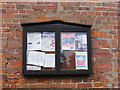 TG2705 : Kirby Bedon Village Notice Board by Geographer