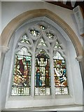 TQ1649 : St Martin, Dorking: stained glass window (I) by Basher Eyre