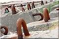 NG8491 : Concrete Holding Down Blocks by Mick Garratt