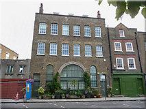 TQ3680 : House, Narrow Street, Limehouse, London by Christine Matthews