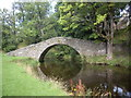 NJ4250 : Reflection of Keith's Old Stone Bridge by Stanley Howe